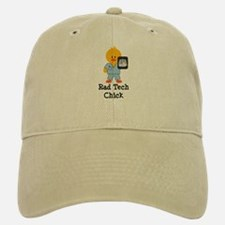 Rad Tech Chick Baseball Baseball Cap