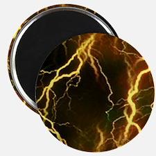 Gold Lightning Look Magnet