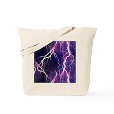 White Lightning Look Tote Bag