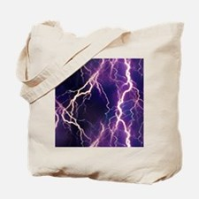 White Lightning Look Tote Bag