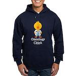 Oncology Chick Hoodie (dark)