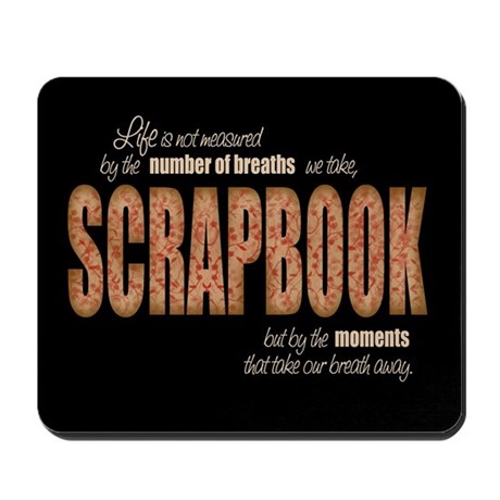 Scrapbook Moments Mouse Pad