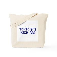 Tortoises Kick Ass Tote Bag