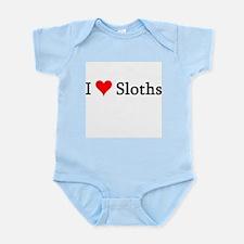 I Love Sloths Infant Creeper