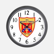 USS William H. Standley (CG 32) Wall Clock
