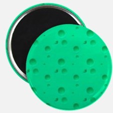 Green Cheese Magnet