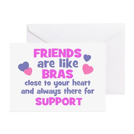 FRIENDS-BRA Greeting Cards (Pk of 10)