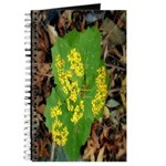 Yellow Flowers On Green Leaves Journal