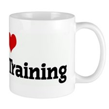 I Love Athletic Training Mug