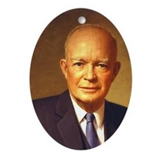 Dwight D. Eisenhower Christmas Ornament