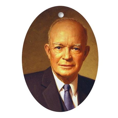 Dwight D. Eisenhower Christmas Ornament