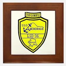 USS Anchorage (LSD 36) Framed Tile