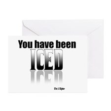 You have been Iced Greeting Cards (Pk of 20)