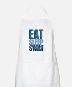 EAT SLEEP SWIM BBQ Apron