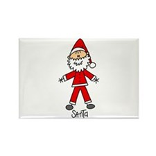 Santa Claus Rectangle Magnet (100 pack)