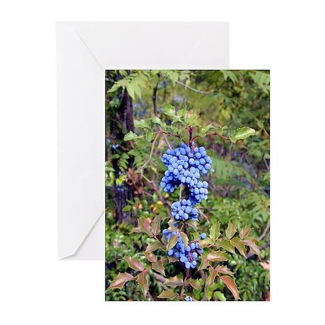 Blue Berries Greeting Cards (Pk of 10)