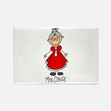 Mrs. Santa Claus Rectangle Magnet