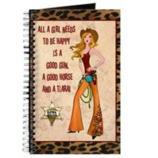 """All A Cowgirl Needs"" Journal"