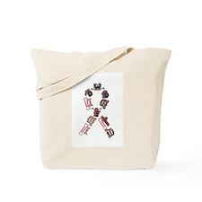 Woof Ribbon Tote Bag