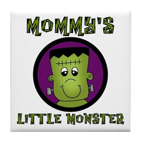 Mommy's Little Monster Tile Coaster