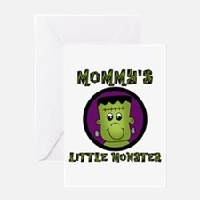 Mommy's Little Monster Greeting Card