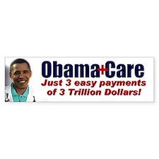 ObamaCare Bumper Car Sticker