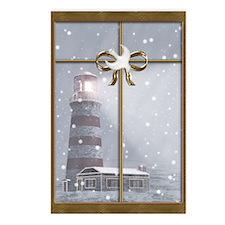 Lighthouse Christmas Postcards (Package o