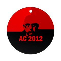 Aleister Crowley 2012 Ornament (Round)