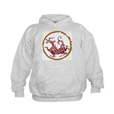 ancient chinese dragon design 2 Hoodie