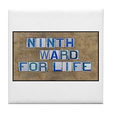 Ninth Ward for Life Tile Coaster