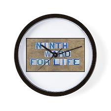 Ninth Ward for Life Wall Clock