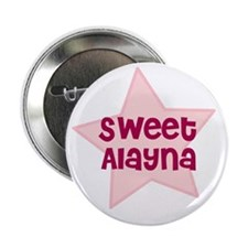 """Sweet Alayna 2.25"""" Button (10 pack)"""