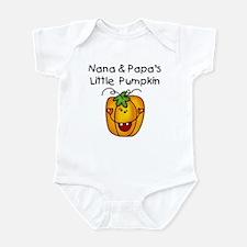 Nana and Papa's Pumpkin Infant Bodysuit