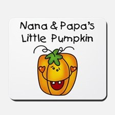 Nana and Papa's Pumpkin Mousepad