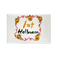 1st Halloween Rectangle Magnet