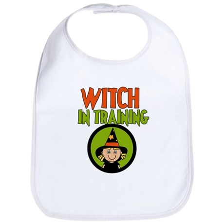 Witch in Training Bib