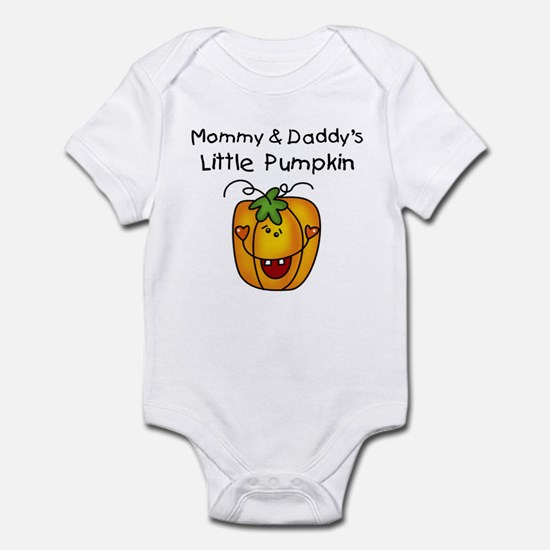 Mommy and Daddy's Pumpkin Infant Bodysuit
