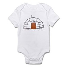Love Yurts Infant Bodysuit