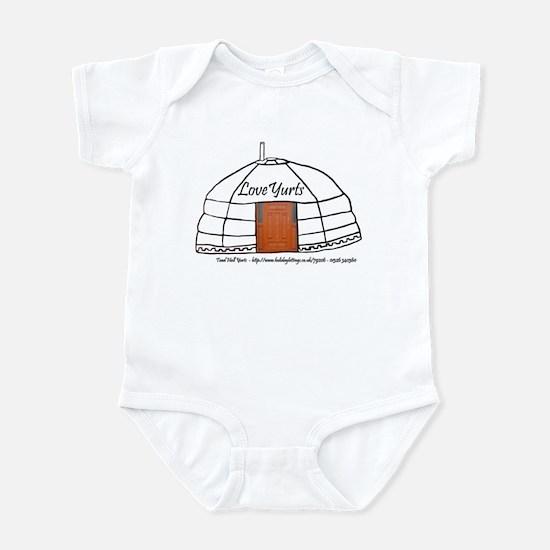 Love Yurts Infant Bodysuit