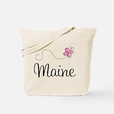 Pretty Maine Tote Bag