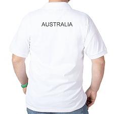 soccer playing kangaroo and australia T-Shirt