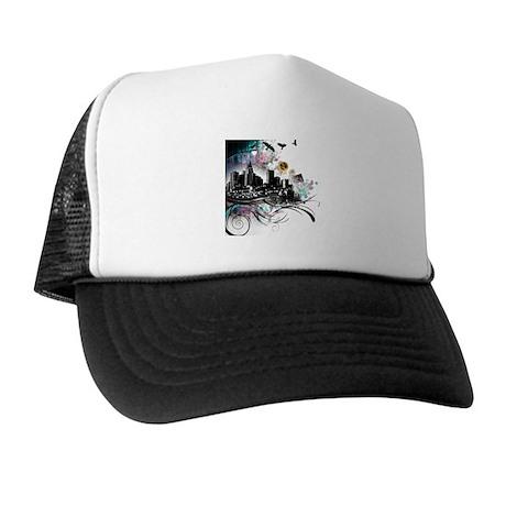 City Grunge Trucker Hat