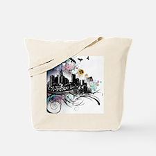 City Grunge Tote Bag
