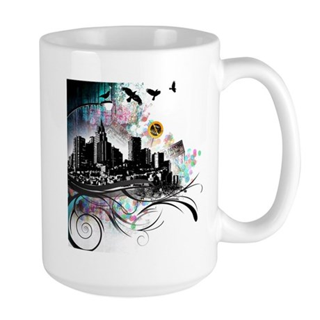 City Grunge Large Mug