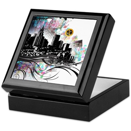 City Grunge Keepsake Box