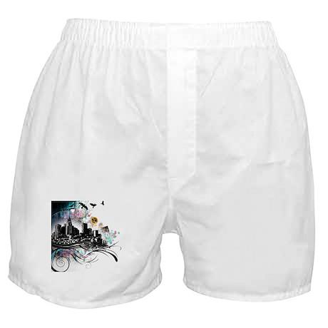 City Grunge Boxer Shorts