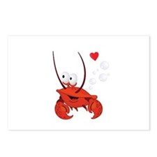 Crab Love Postcards (Package of 8)