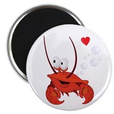 "Crab Love 2.25"" Magnet (10 pack)"