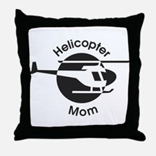 Helicopter Mom Throw Pillow