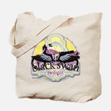 Black Swan Twilight Tote Bag
